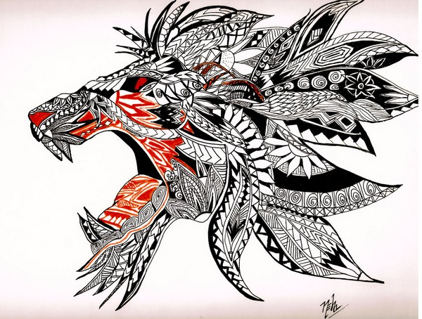 600x454 72 Best Tattoo Design Drawings [2018]