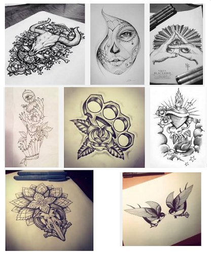 416x501 18 Best Tattoo Sketch Designs For Men And Women Styles At Life