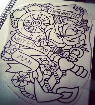 tattoo drawing designs on paper at getdrawingscom free
