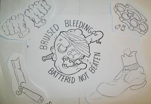485x334 Painting Tattoo Flash Craigy Lee Tattoos
