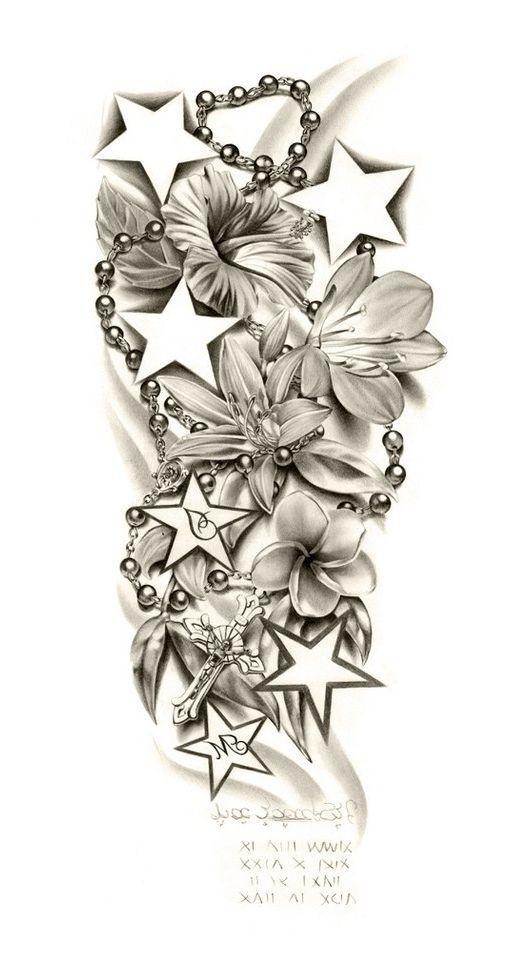 530x968 Sleeve Tattoo Designs Drawings On Paper Tattoo Sleeve Designs