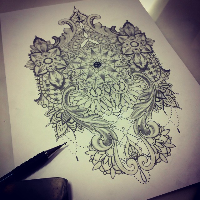 640x640 60 Best Lace Tattoo Designs Amp Meanings
