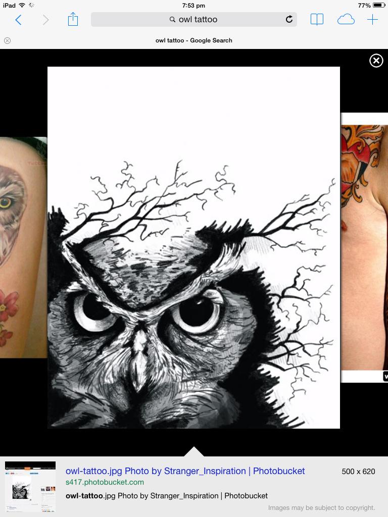 768x1024 Next Tattoo Tattooslt3 Tattoo, Owl And Tatting