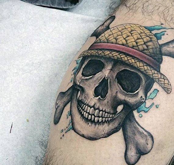 571x543 70 One Piece Tattoo Designs For Men