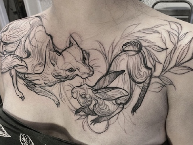 640x480 79 Fashionable And Intriguing Sketch Tattoo Ideas For Your Next Ink