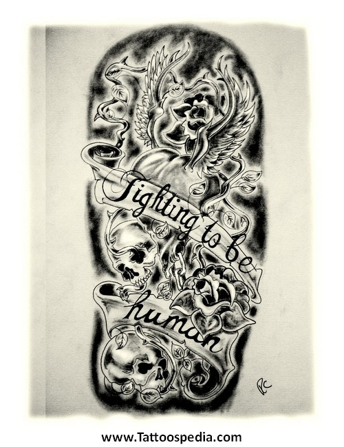 500x650 tattoo sleeve drawing ideas 2