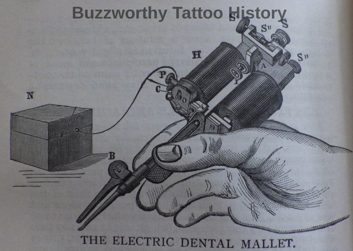 Tattoo Machine Drawing At Free For Personal Use Circuit Electric Tattoos Pictures 1240x882 Elusive Dental Plugger