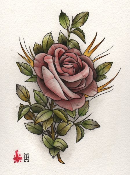 448x604 Chinese Rose Drawing Tattoo Best Tattoo Ideas Gallery