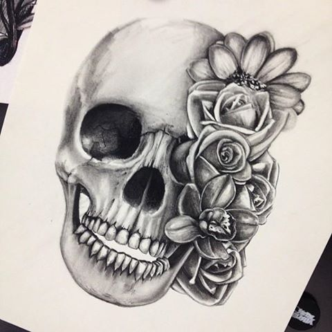 480x480 Skull Tattoo Via Tumblr On We Heart It