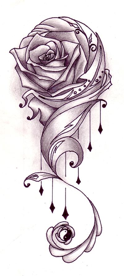 400x887 Tattoos Drawing