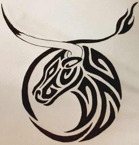 Taurus Bull Drawing at GetDrawings.com | Free for personal use ...