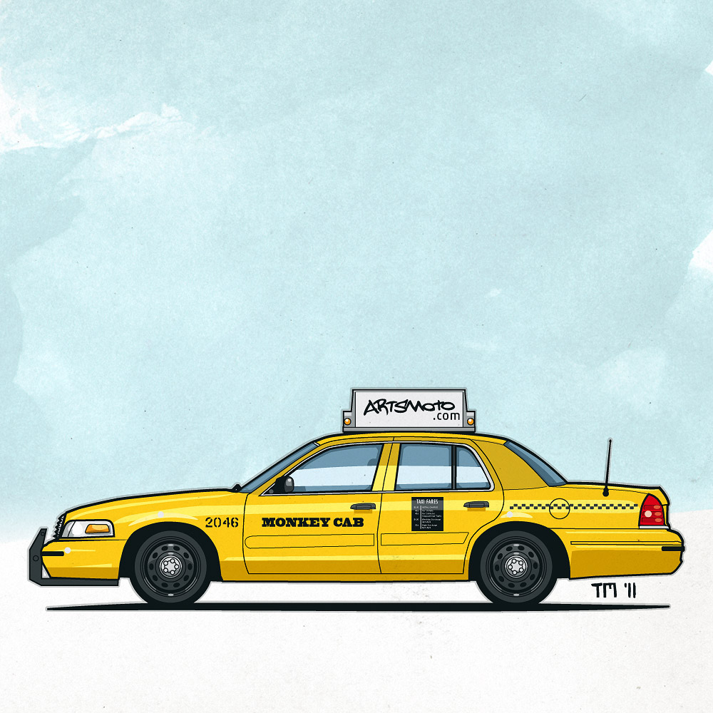 Taxi Cab Drawing at GetDrawings com | Free for personal use