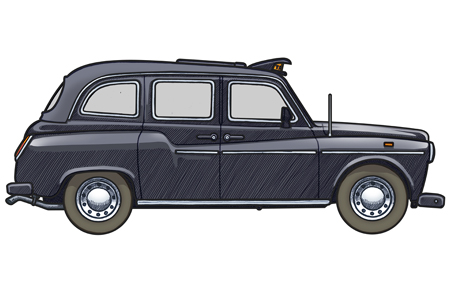 Free New York Taxi Watercolor Vector - Download Free ... |Yellow Taxi Cab Drawing