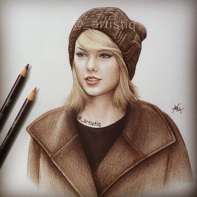 640x640 Artistiq's Photo On Instagram Fan Art Taylor