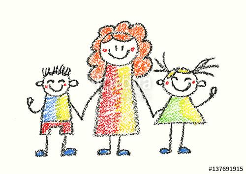 500x354 Nurse, Educator, Teacher Or Mother With Children Small Boy