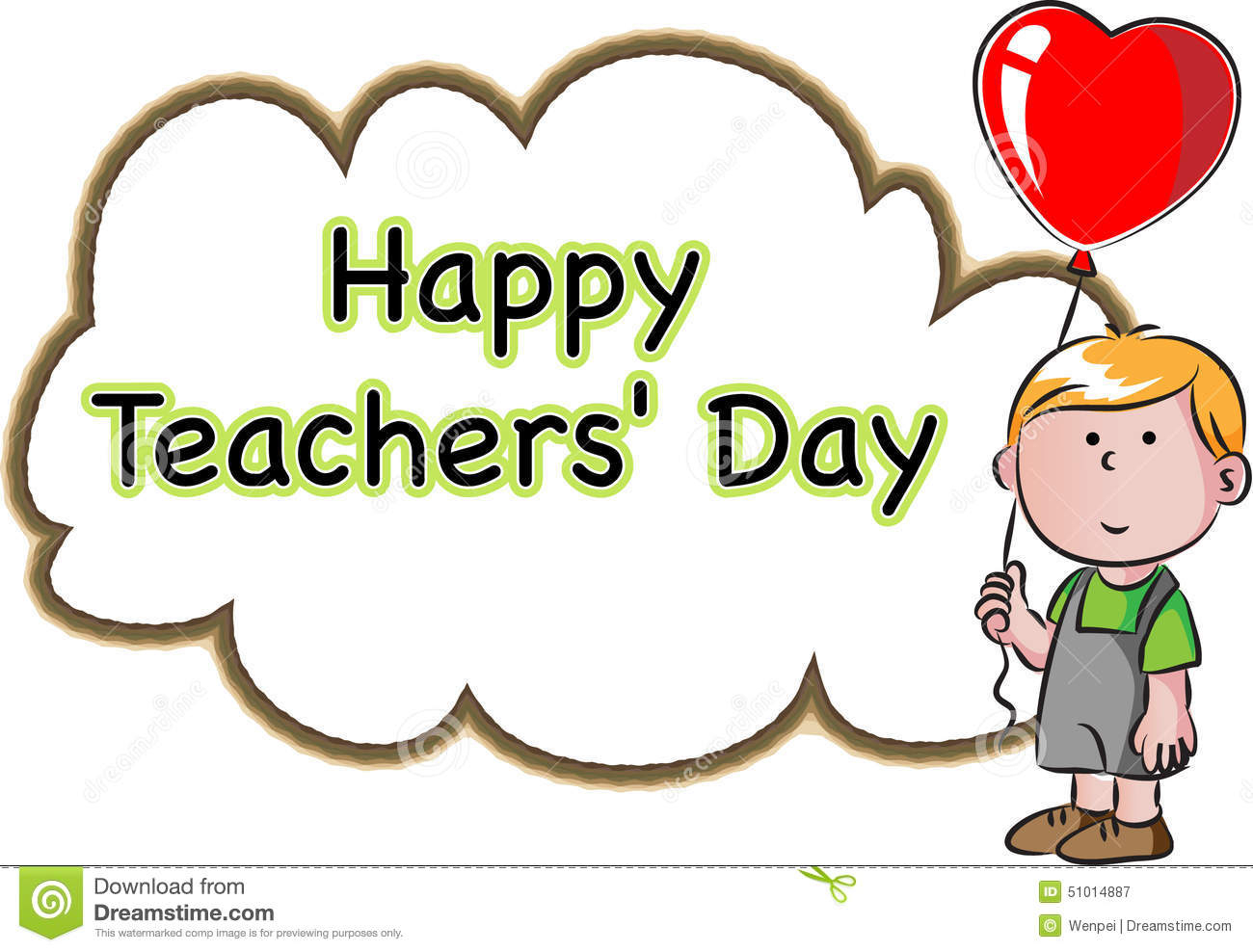 1300x988 Drawing On Teachers Day Happy Teachers Day Stock Illustration