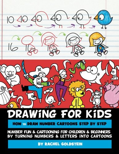 386x500 Drawing For Kids How To Draw Number Cartoons Step By Step Number