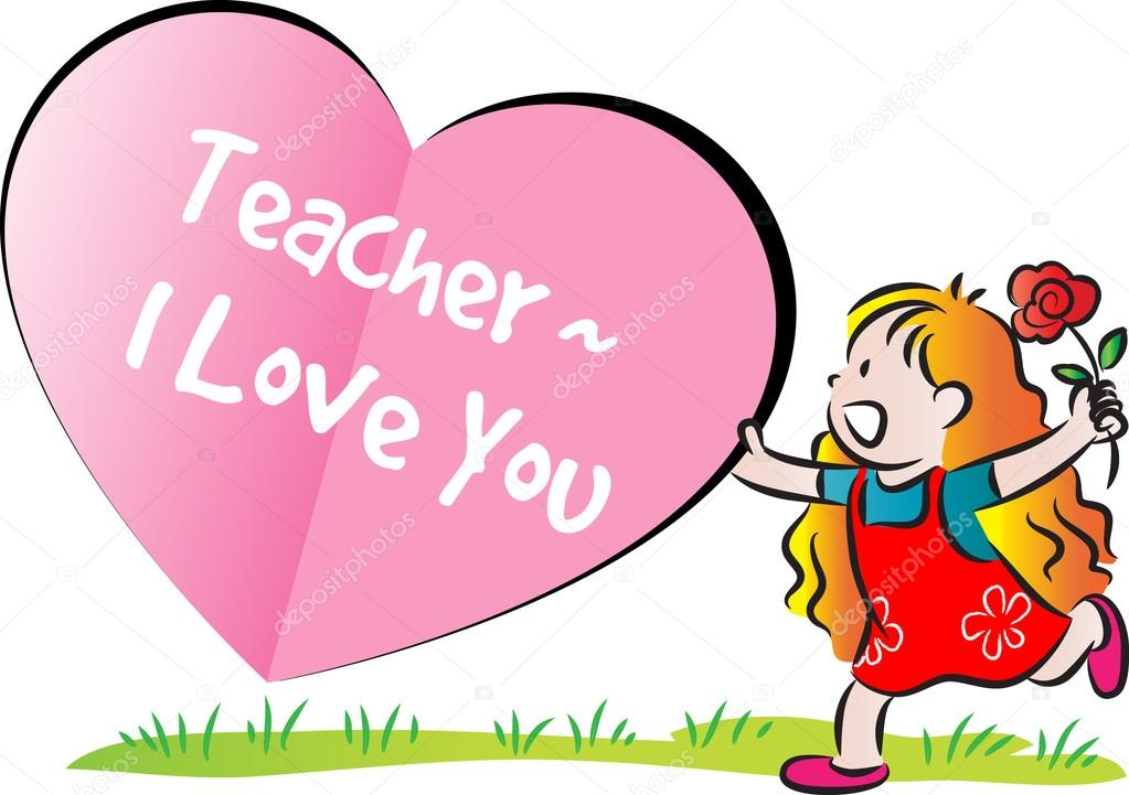 1023x721 Cartoon Drawing Happy Teachers'Day Card Stock Photo Wenpei
