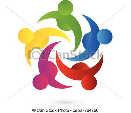 450x390 264 Best Teamwork People Logo Icon Id Business Card Images
