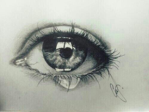 499x375 Drawing Of Eye Amp Tear Art Art Drawings Eye Tear