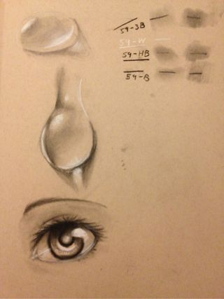 320x427 Since I Only Have Time To Sketch, I Was Trying Out Charcoal. It'S