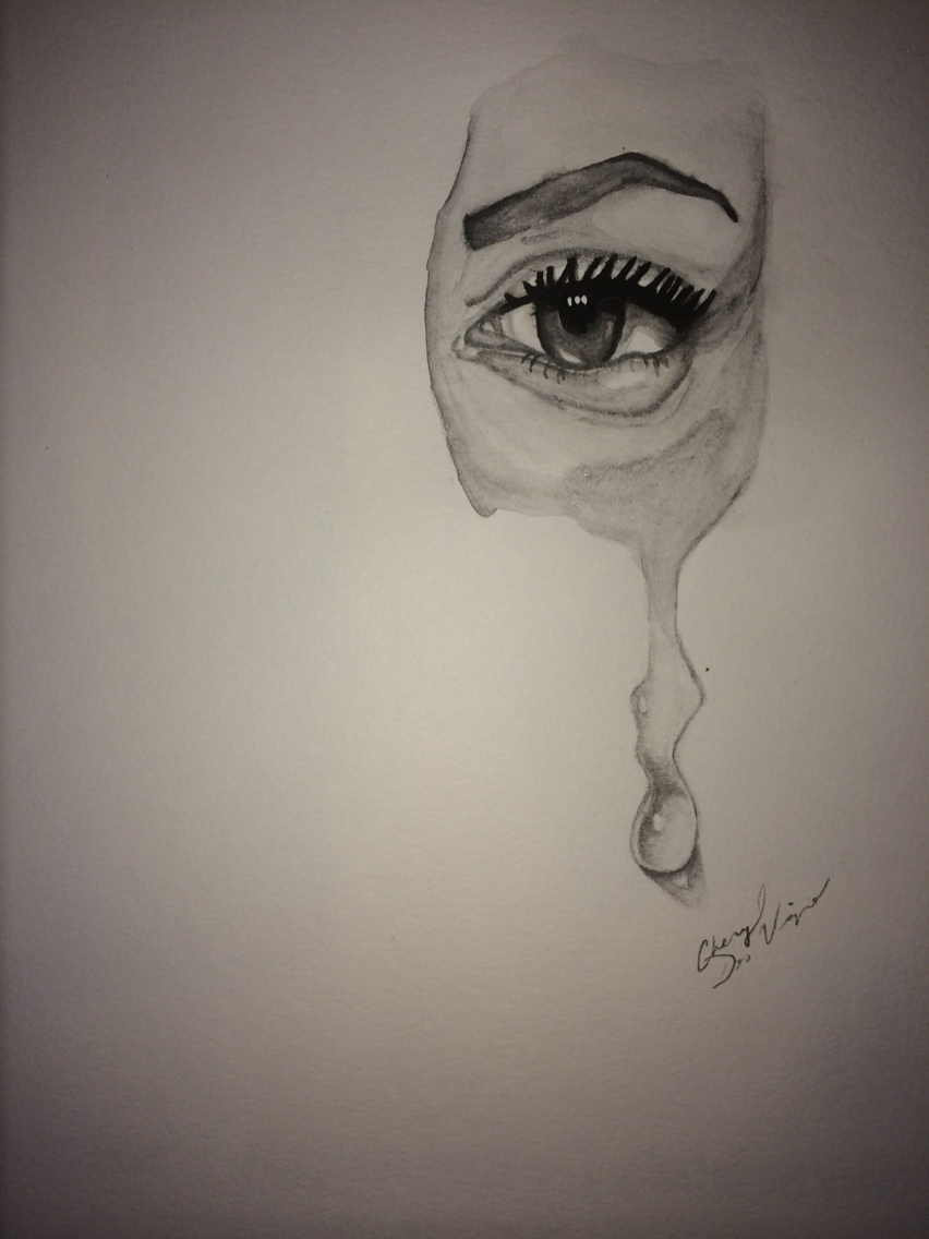 Tear Drop Drawing at GetDrawings.com | Free for personal ...