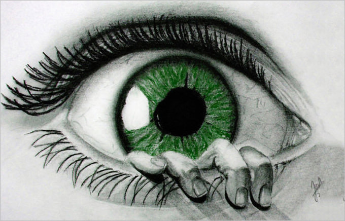 Tears In Eyes Drawing At Getdrawings Com Free For