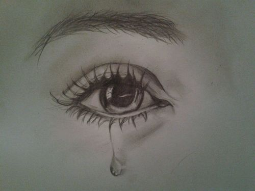 tears in eyes drawing at getdrawings com free for personal use