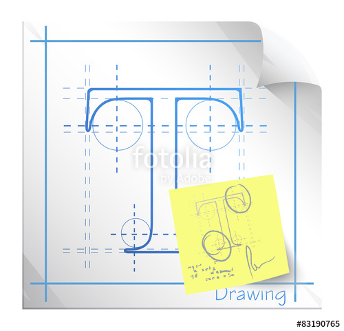 500x481 Technical Drawing Fonts With Revision Note
