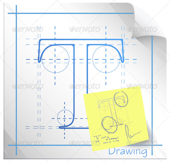 590x563 Technical Drawing Fonts With Revision Note By Designpraxis