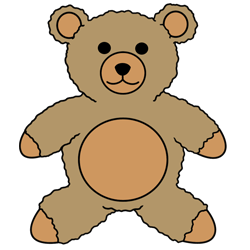 250x250 How To Draw A Teddy Bear