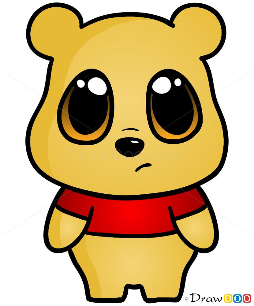 830x1000 How To Draw Bear, Chibi