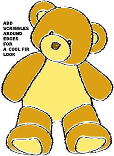 236x322 How To Draw A Teddy Bear With Easy Step By Step Drawing Tutorial