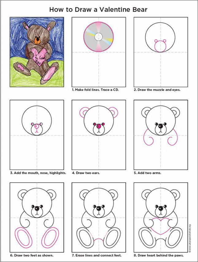 646x855 Valentine Teddy Bear Bears, Drawings And Teddy Bear