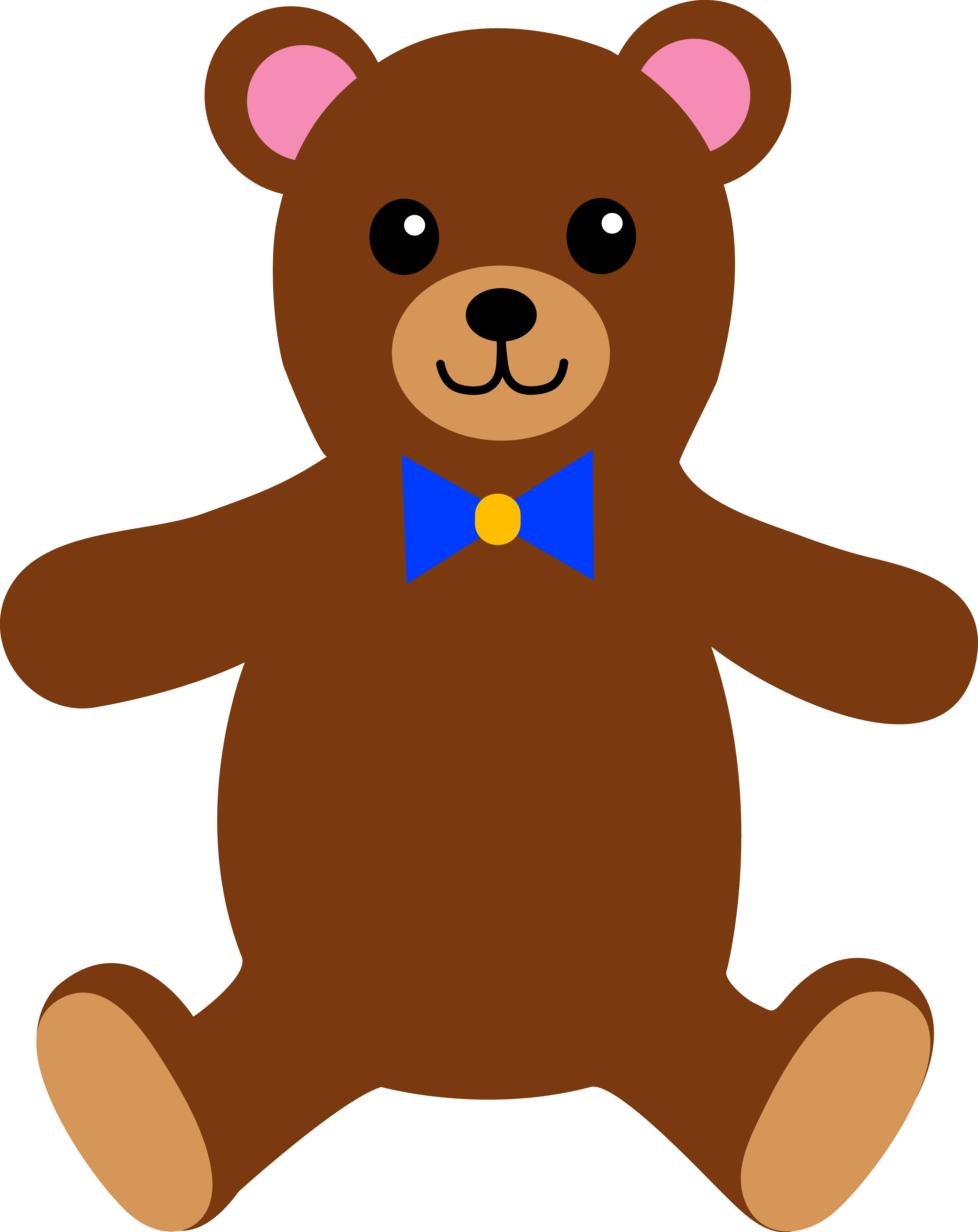Teddy Bear Drawing For Kids at GetDrawings | Free download
