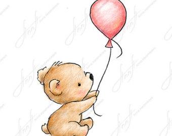 340x270 Cute Teddy Bear Drawing