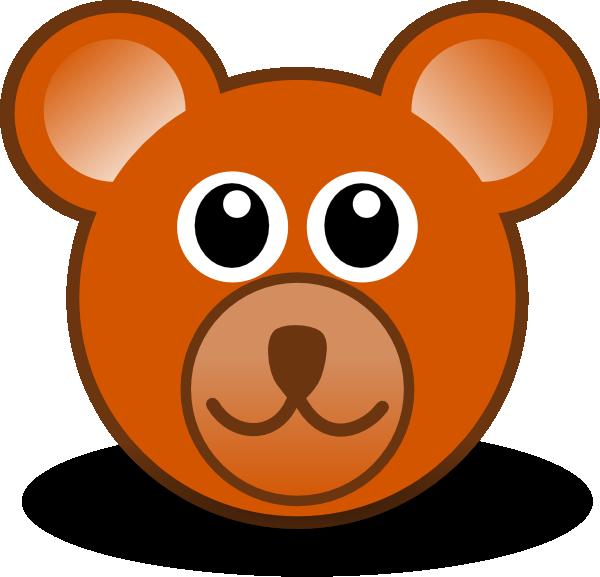 600x577 Teddy Bear Face Clip Art