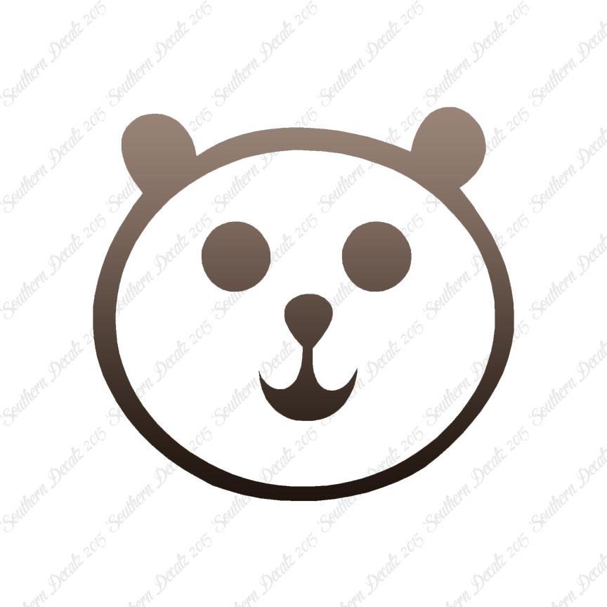 864x864 Teddy Bear Face Drawing