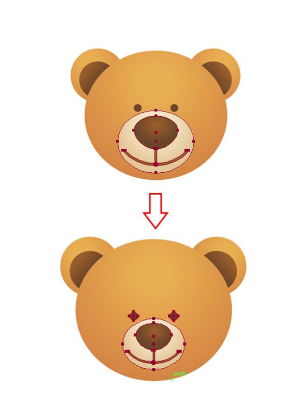 600x801 A Simple School Teddy Bear In Adobe Illustrator