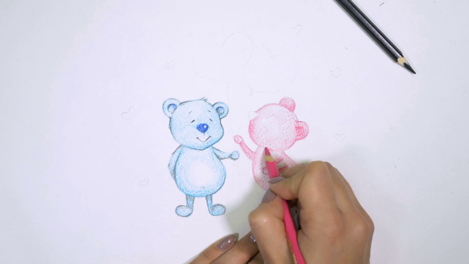 1920x1080 Valentine's Day. Beautiful, Cute, Lovely Teddy Bears In Love