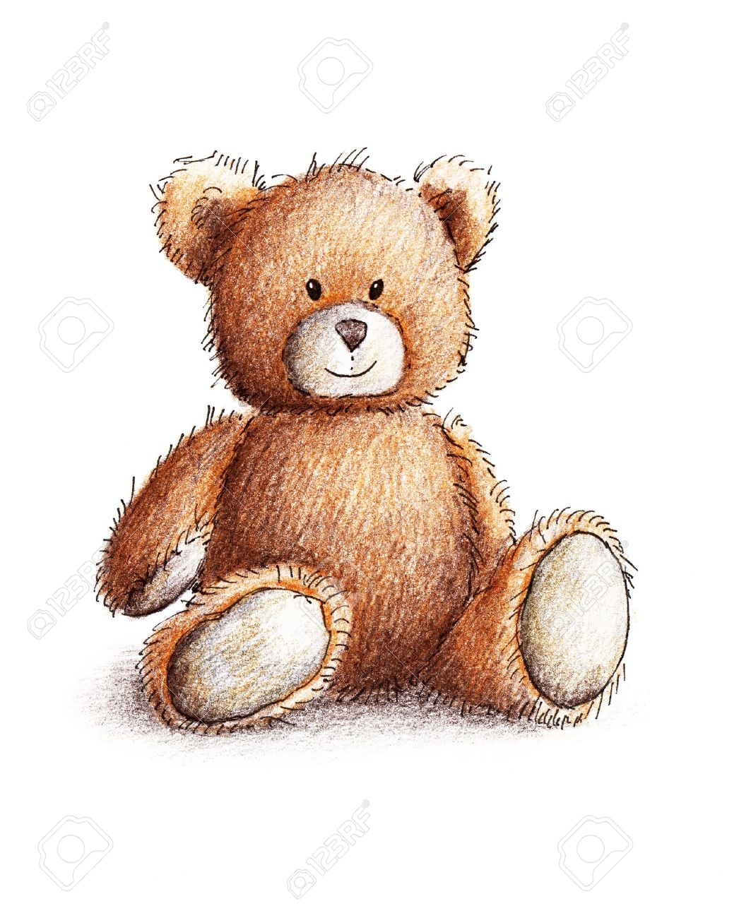 Teddy bear pencil drawing at getdrawings free for personal use 1063x1300 pencil drawing of a cute teddy bear bear pencil images amp stock altavistaventures Image collections