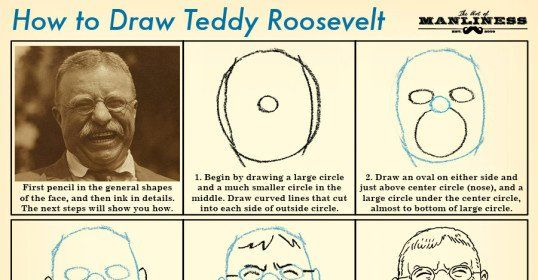 538x280 How To Draw Teddy Roosevelt History Classroom And Artist