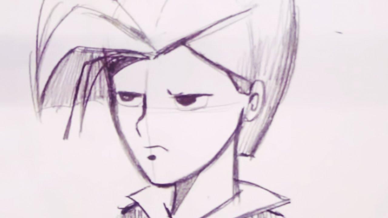 1280x720 How To Draw A Teenage Boy (Step By Step)