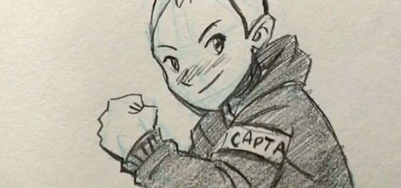 1280x600 How To Draw A Teenage Manga Boy Drawing Amp Illustration