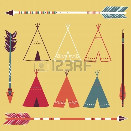 450x450 Teepee Tents And Arrows