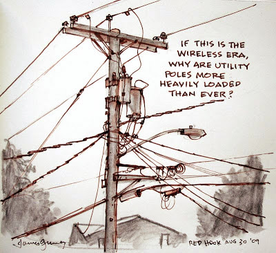 400x366 Gurney Journey What Artists Need To Know About Utility Poles