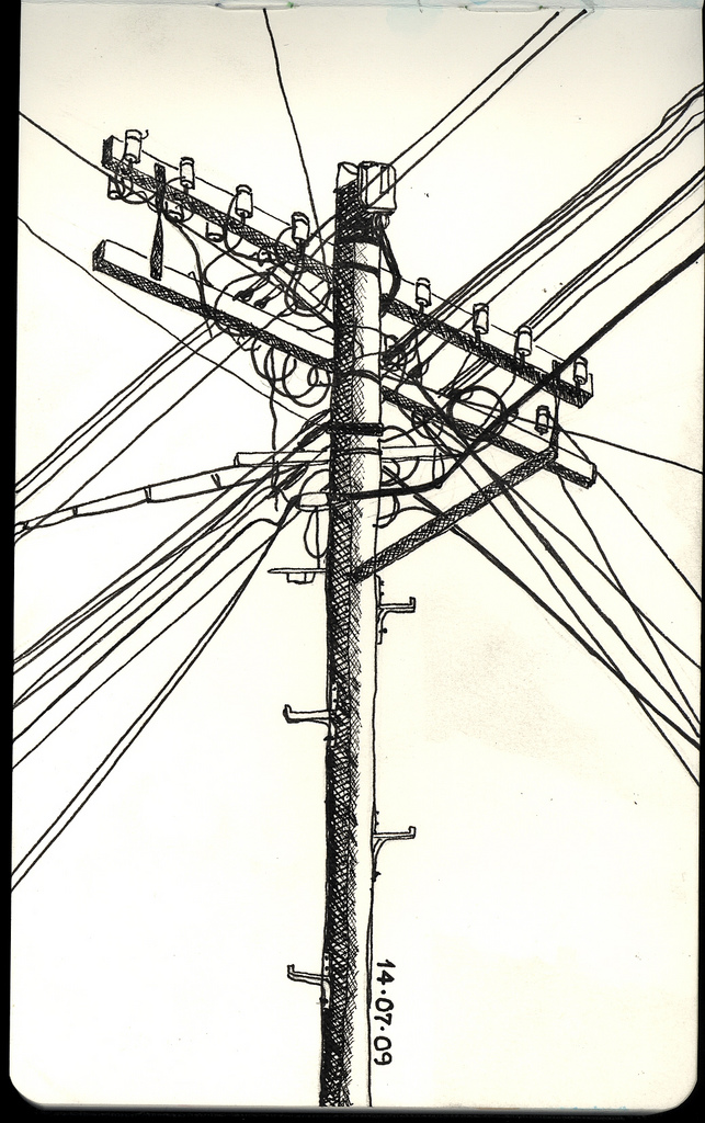 643x1024 Telephone Pole Telephone Pole. Impressive Entanglement