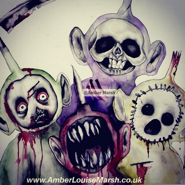 600x600 Amber Marsh On Twitter My Evil Teletubbies !!