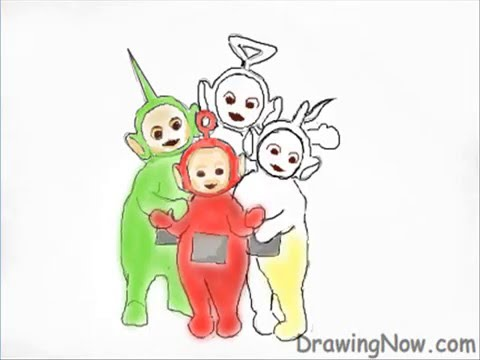 480x360 How To Draw Teletubbies