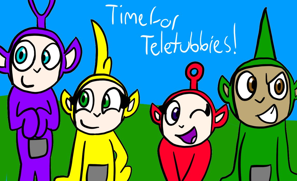 1145x698 Just A Drawing Of Teletubbies Xd By